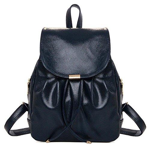 Big Casual theft Backpack Draw Handbag Cool Bags Bag Sj Anti Blue Female Student Shoulder Fhrr Double Ladies gOxBwwqp