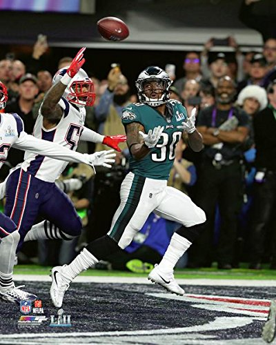766910ef6c6 Philadelphia Eagles Corey Clement Scores a Touchdown During Super Bowl 52  8x10 Photo, Picture