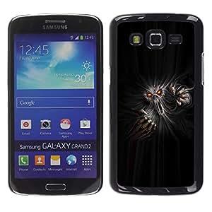 Paccase / SLIM PC / Aliminium Casa Carcasa Funda Case Cover para - Monster Ghost Devil Red Eyes Hell Horror - Samsung Galaxy Grand 2 SM-G7102 SM-G7105