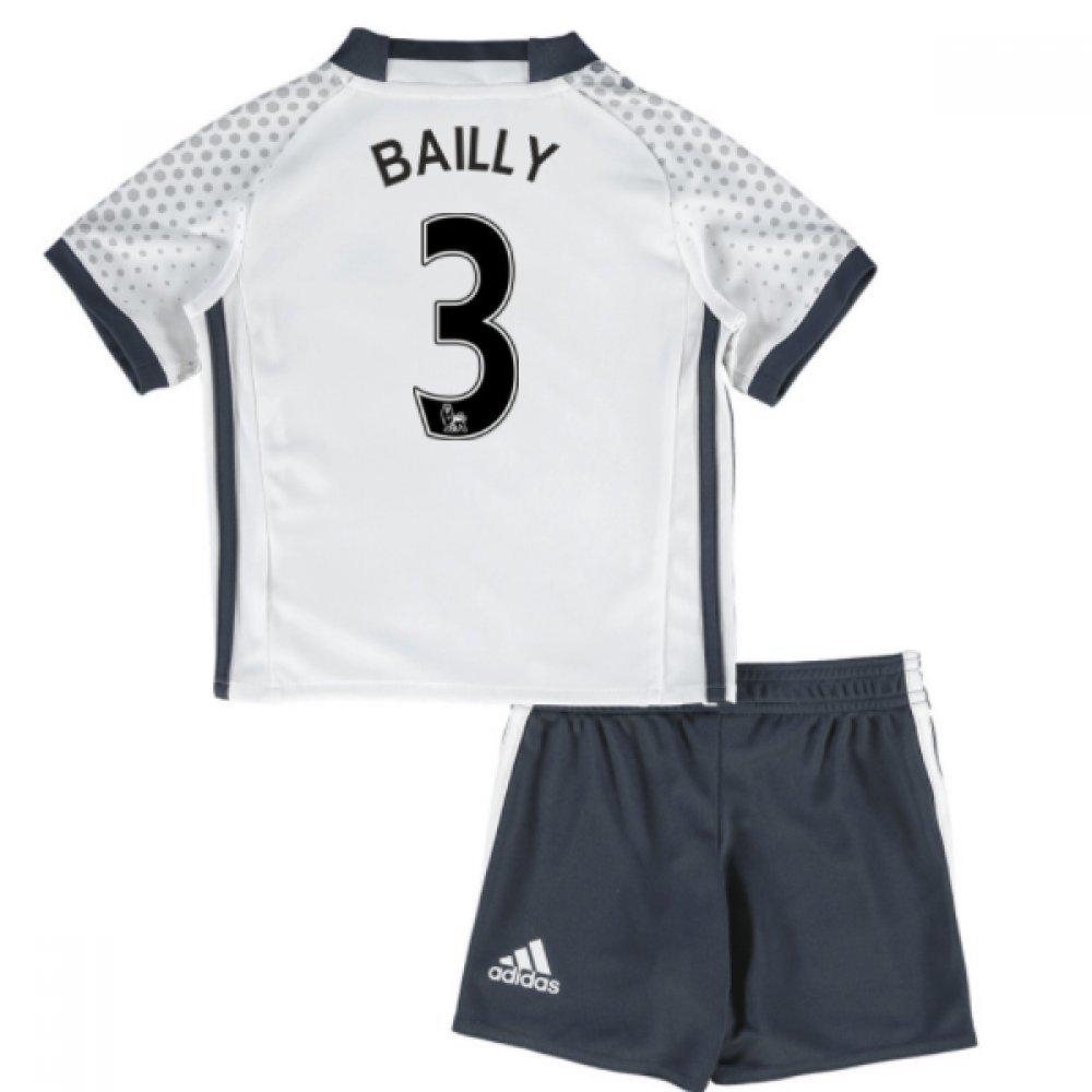 UKSoccershop 2016-17 Man United Third Mini Kit (Eric Bailly 3)