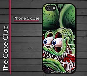 iPhone 5C (New Color Model) Rubber Silicone Case - Rat Fink Painting Ed Roth