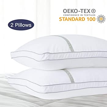 2-Pack BedStory Down Alternative Hypoallergenic Pillows