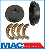 Mac Auto Parts 68311 06-12 Toyota Yaris (2) Rear Brake Drums and Shoes 35117 B917