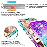 S7 Edge Case, Galaxy S7 Edge Glitter Case with HD
