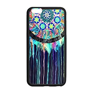 iPhone6 Plus 5.5 Case,Colorful Dream Catcher Hign Definition Abstract Artistic Design Cover With Hign Quality Rubber Plastic Protection Case