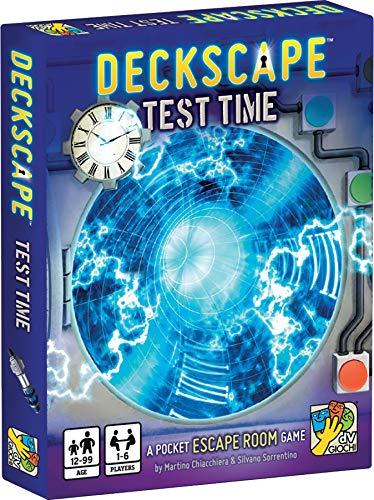 Deckscape - Test Time (Escape The Room Stargazers Manor Board Game)