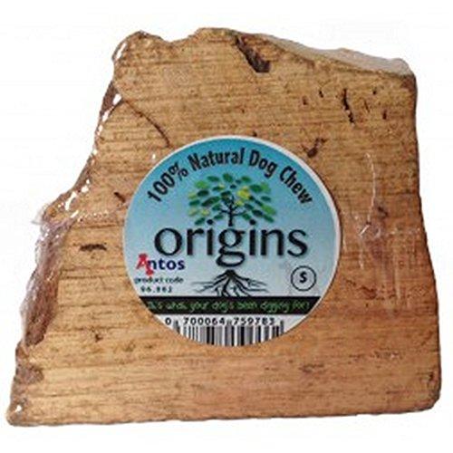 (Antos Origins Natural Chew Dog Toy Root Medium)