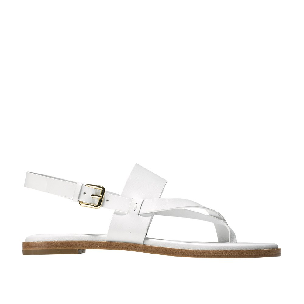 Cole Haan Womens Anica Thong Sandal 6.5 White by Cole Haan