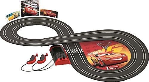 Carrera First 63010 Disney/Pixar Cars 3 battery operated slot car set (Slot Car Track Set)