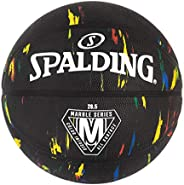 Spalding Marble Series Black Multi-Color Outdoor Basketball 28.5&