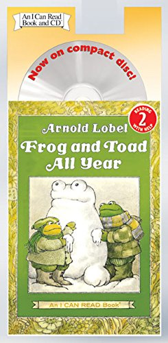Frog and Toad All Year Book and CD (I Can Read Level 2)