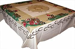 western cowboys tablecloth