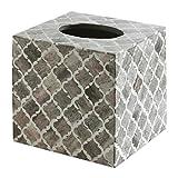 Kassatex Marrakesh Real Bone Boutique Tissue Box Cover