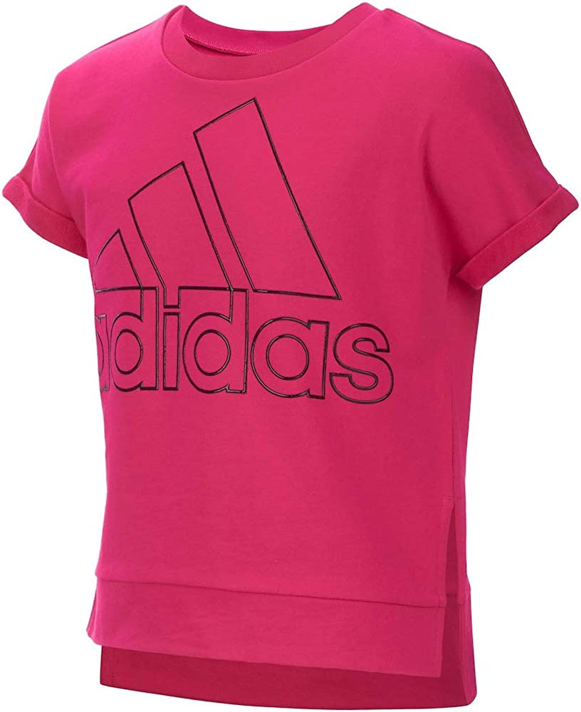 adidas Girls Short Sleeve Graphic Tee Shirts