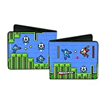 Wallet - Megaman - Bi-Fold Toys New Licensed puw-mei