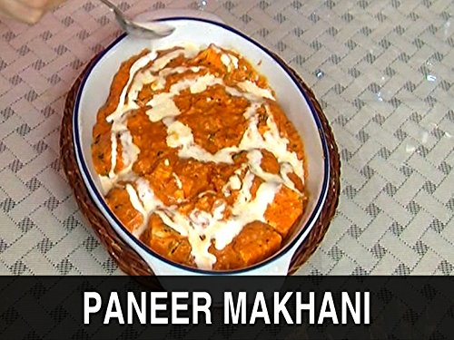 Paneer Makhani - Indian Cheese In Creamy Sauce Ruchi's (India Gravy)