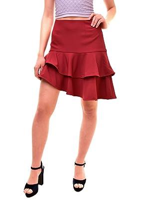Finders Keepers Falda de Mujer Bosnia roja Talla S: Amazon.es ...