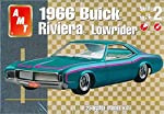 AMT 31849 1966 Buick Riviera Lowrider 1:25 Scale Plastic Model Kit - Requires Assembly from Amt