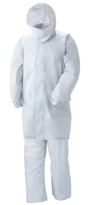 スミクラ 透湿レインスーツ リュック型 全2色 全6サイズ 上下スーツ シルバー SS 防水透湿 収納袋付き 反射テープ付き [正規代理店品] B019RVPZC0 SS|シルバー シルバー SS