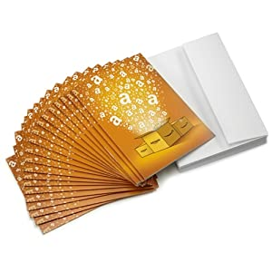 Best Epic Trends 51qjKu0eGBL._SS300_ Amazon.com $10 Gift Cards, Pack of 20 with Greeting Cards (Amazon Surprise Box Design)
