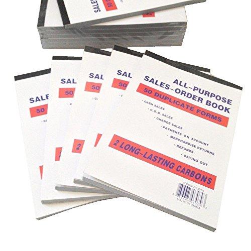 Newiparts® Lot of 6pk Sales Order Book Receipt Book 5.5