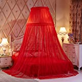 Ceiling dome court mosquito net, Round During Princess Double canopy bed-B Queen1