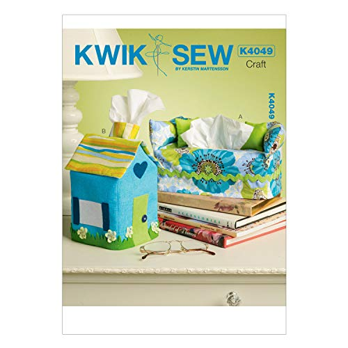 (KWIK-SEW PATTERNS K4049 Tissue Box Covers, One Size Only )