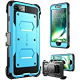iPhone 7 Plus Case, iPhone 8 Plus Case [Armorbox] i-Blason Built In [Screen Protector] [Full body] [Heavy Duty Protection ] Shock Reduction/Bumper Case for Apple iPhone 7 Plus/iPhone 8 Plus (Blue)