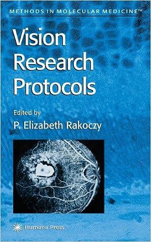Vision Research Protocols (Methods in Molecular Medicine)