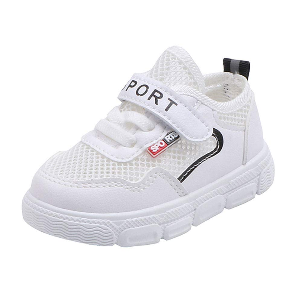 Girls Rubber Velcro Athletic Shoes