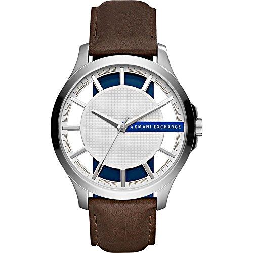 A/X Armani Exchange Smart Leather Watch