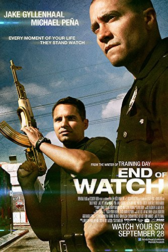 End Of Watch (LAPD) - Movie Poster - Size 24'x36'