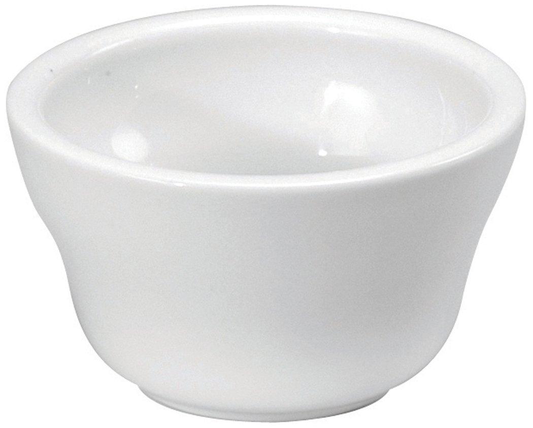 Oneida Foodservice F8010000700 Bright White Porcelain, Set of 36, Bouillon Salad Bowl