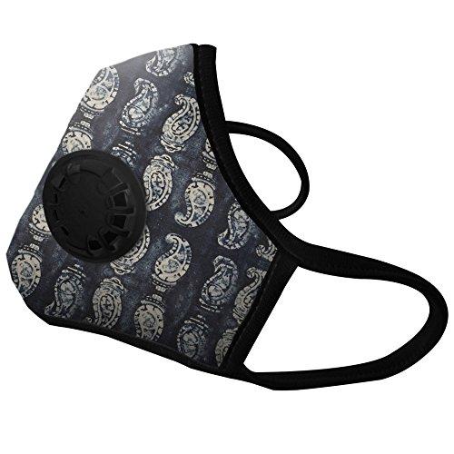 vogmask woodblock n99 cv m 51 130 lbs 23 58 kg best air filter pollution face mask for. Black Bedroom Furniture Sets. Home Design Ideas