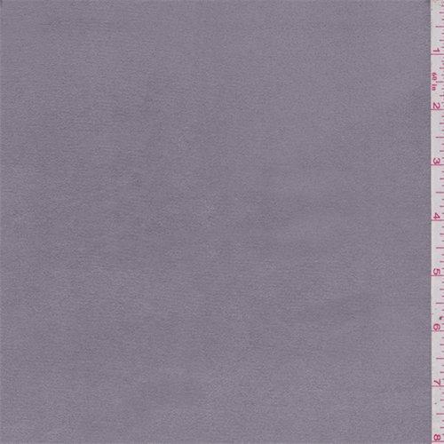 Dusty Grey Microsuede, Fabric By the Yard