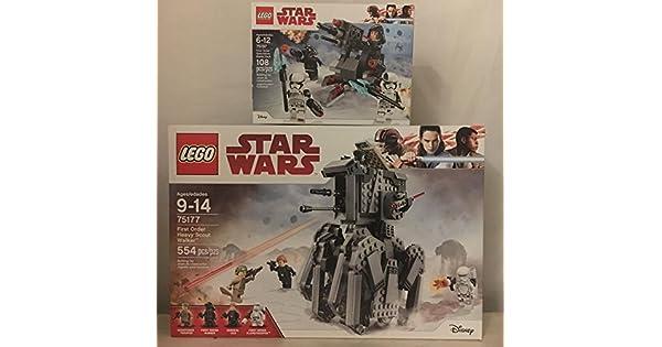 Amazon.com: LEGO star wars pesado de la primera orden Scout ...