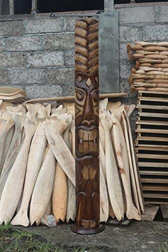 Big Kahuna Tiki Mask on Stand 60''   #bag15045150b by tikimaster.com (Image #4)