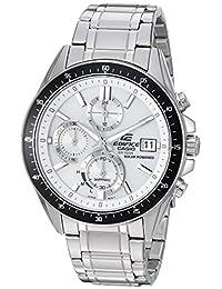 Casio Men's 'Edifice' Quartz Stainless Steel Casual Watch, Color:Silver-Toned (Model: EFS-S510D-7AVCR)