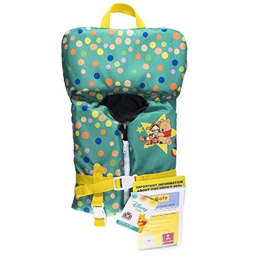 SwimWays Sea Squirts Infant Life Jacket, Disney Baby Winnie The Pooh