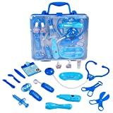 JN Doctor Kit,Pretend Play Medical Kits for Kids Nurse Set Role Play Great Gift for Kids 3+Yeas Old