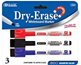 BAZIC Assorted Color Magnetic Dry-Erase Markers (3/Pack) Case Pack 144 Computers, Electronics, Office Supplies, Computing