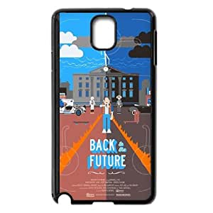 Back To The Future Samsung Galaxy Note 3 Cell Phone Case Black Customized Toy pxf005_9684099