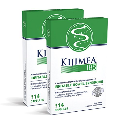 Kijimea IBS, Medical Food for The Dietary Management of Irritable Bowel Syndrome 14 Count 2 Pack (28 Capsules) by Kijimea