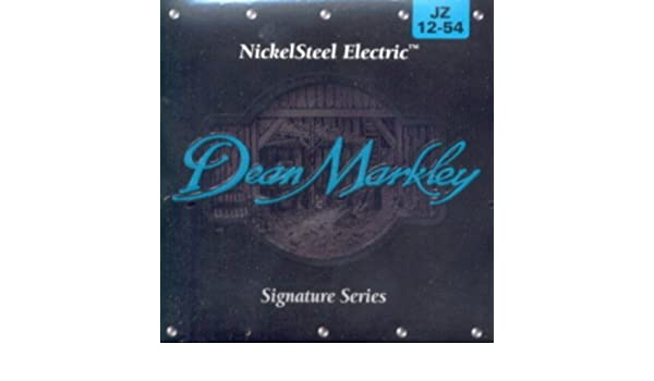 Amazon.com: CUERDAS GUITARRA ELECTRICA - Dean Markley (2506) Jazz/Signature (Juego Completo 012/054): Musical Instruments