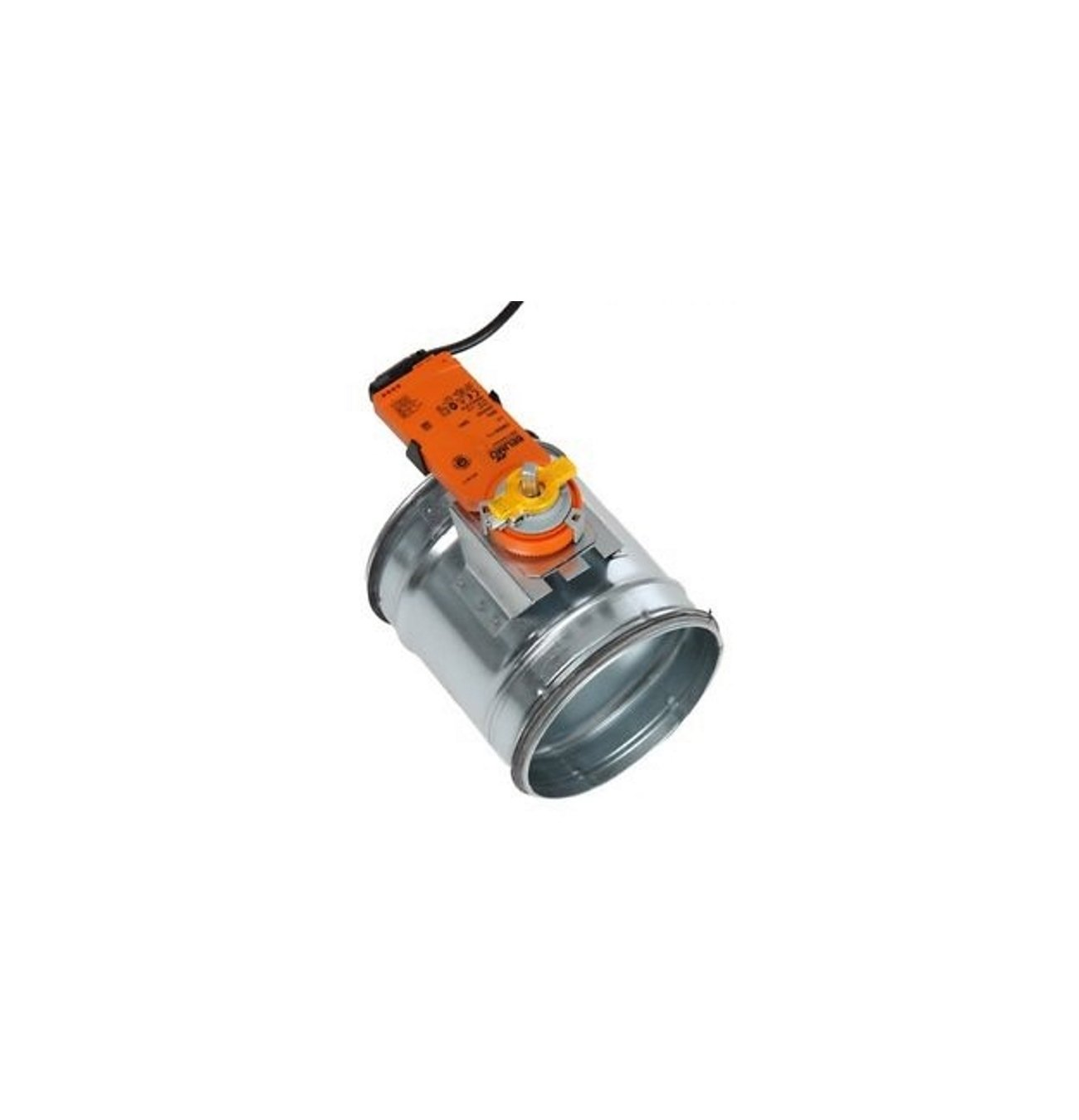 Serranda di taratura aria motorizzata a tenuta, servomotore Belimo CM230-L (Diametro 100 mm) Arieggiare