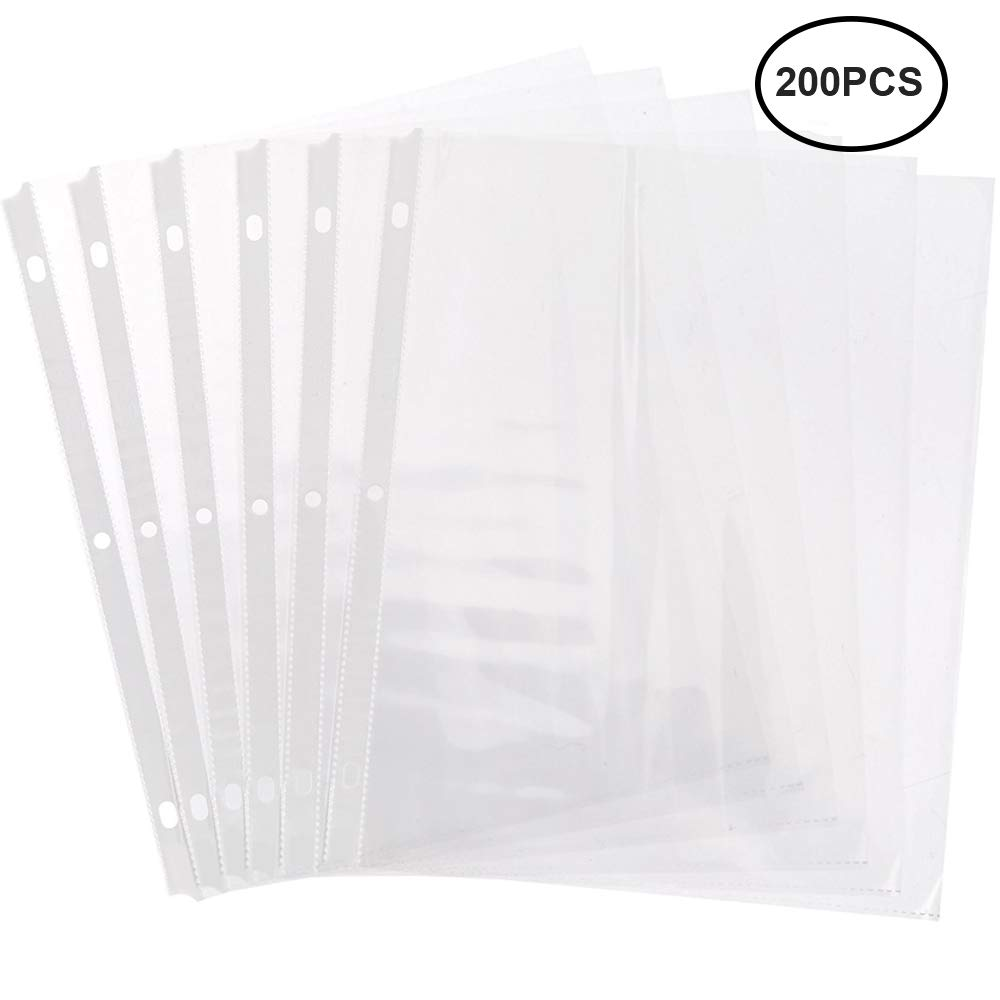 Perfect sheet protectors for school or storage
