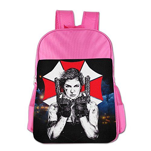 Unique Childrens Multipurpose Backpacks Bags, Resident Evil Pink