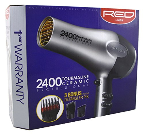 Price comparison product image RED Kiss 2400 Tourmaline Blow Dryer