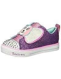 Skechers Baby-Girls Shuffle LITE-Sparkle PAS Sneaker