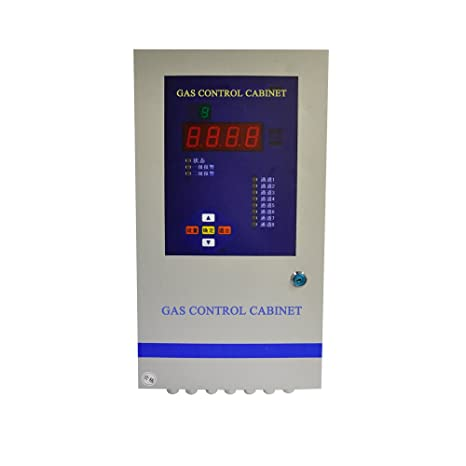 Multifunción Inspección armario de control de alarma para sensor de gas detección de alarma y el